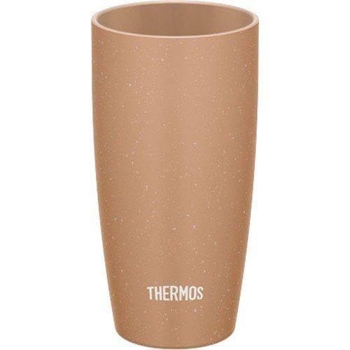 【納期約7~10日】THERMOS サーモス JDM-420-BE 真空断熱タンブラー 0.42L ベージュ