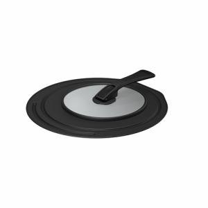【納期約7~10日】THERMOS サーモス KLD-001 BK 折りたたみスタンド式フライパン ブラック