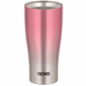 【納期約7~10日】THERMOS サーモス JDE-421C P-FD 真空断熱タンブラー 0.42L ピンクフェード