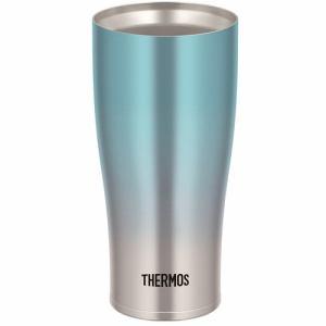 【納期約7~10日】THERMOS サーモス JDE-421C BL-FD 真空断熱タンブラー 0.42L ブルーフェード