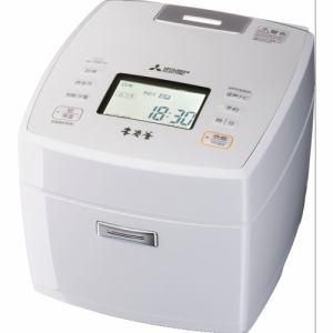 【納期約7~10日】MITSUBISHI 三菱電機 NJ-VWC10-W IHジャー炊飯器(本炭釜) 5.5合 月白 NJVWC10