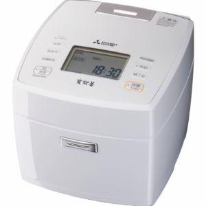 【納期約7~10日】MITSUBISHI 三菱電機 NJ-VVC18-W IHジャー炊飯器 1升 月白 NJVVC18 W