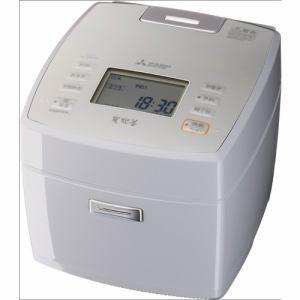 【納期約7~10日】MITSUBISHI 三菱電機 NJ-VEC10-H IHジャー炊飯器 5.5合 淡雲 NJVEC10