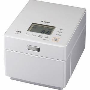 【納期約7~10日】MITSUBISHI 三菱電機 NJ-XSC10-W IHジャー炊飯器(蒸気レスIH) 5.5合 クリスタルホワイト NJXSC10J