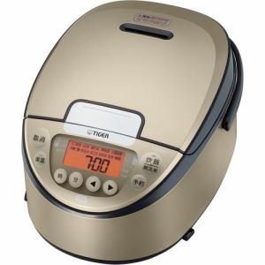 【納期約7~10日】TIGER タイガー JPW-A100NP IH炊飯器 炊きたて 5.5合 シャンパンゴールド JPWA100 NP