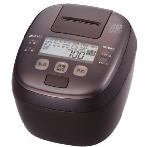【2021年6月21日発売予定】TIGER タイガー JPI-H180TD 圧力IHジャー炊飯器 1升 ダークブラウン JPIH180 TD