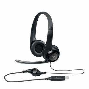 【納期約7~10日】ロジクール H390R USBヘッドセット ブラック H390R