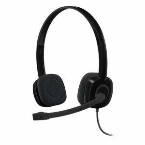 【納期約7~10日】ロジクール H151R ステレオヘッドセット ブラック H151R