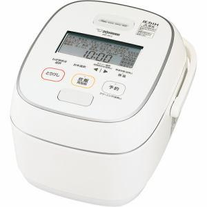 【納期約7~10日】ZOJIRUSHI 象印 NW-JX10-WA 圧力IH炊飯ジャー 5.5合炊き ホワイト NWJX10 WA