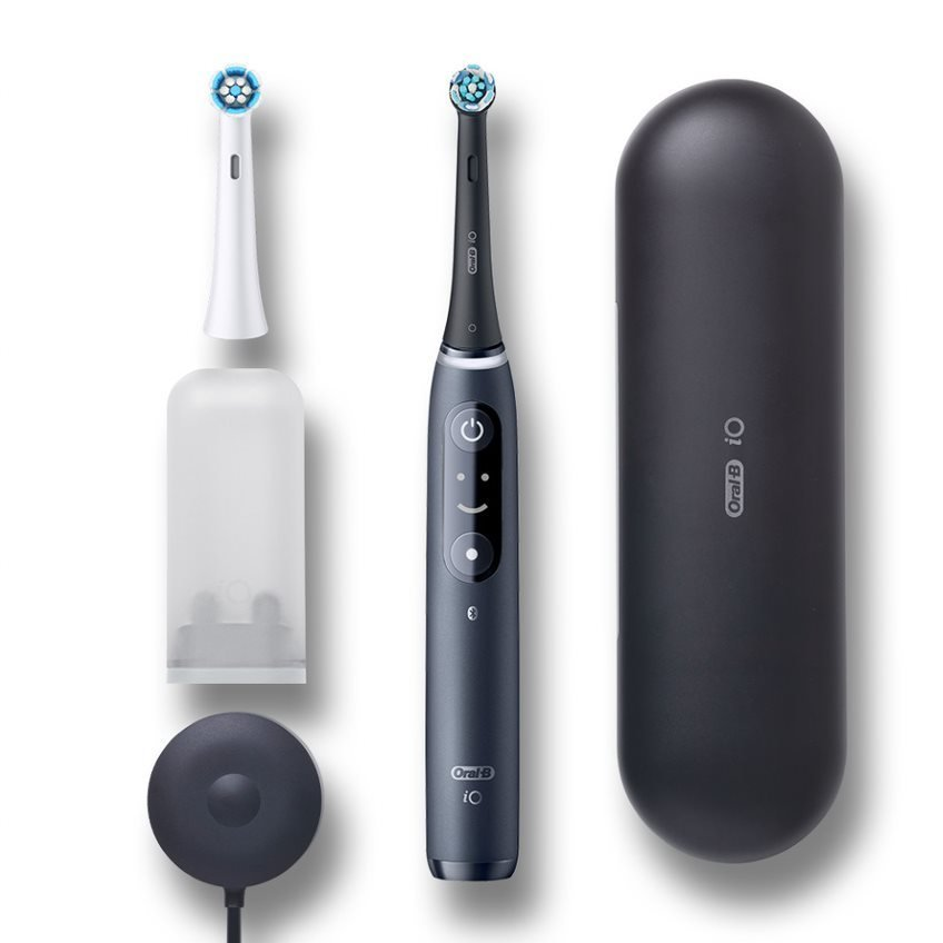 【納期約2週間】BRAUN ブラウン 電動歯ブラシ(ブラックオニキス) オーラルB iO7 IOM72J22BDBK