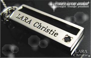 ララクリスティー LARA Christie ストレートラウンジ ネックレス [ BLACK Label ブラックレーベル] 【送料無料】【即納】【プレゼントに最適】10P03Dec16