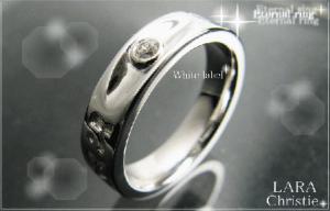 ララクリスティー LARA Christie エターナル リング[ WHITE Label ホワイトレーベル] 【送料無料】【即納】【プレゼントに最適】10P03Dec16