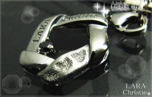 ララクリスティー LARA Christie リンケージ ストラップ [ BLACK Label ブラックレーベル] 【送料無料】【即納】【プレゼントに最適】10P03Dec16
