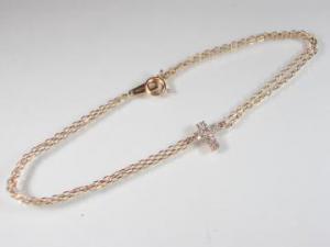 K10PG ピンクゴールド ダイヤモンド ブレスレット10P03Dec16