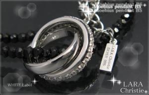 ララクリスティー LARA Christie メビウス ネックレス BSモデル [ WHITE Label ホワイトレーベル] 【送料無料】【即納】【プレゼントに最適】10P03Dec16