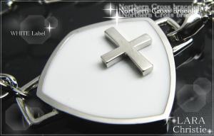 ララクリスティー LARA Christie ノーザンクロスブレスレット[WHITE Label] 【送料無料】【即納】【プレゼントに最適】10P03Dec16