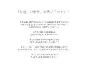 with me メッセージペア ネックレス ANNIVERSARY(記念日)10P03Dec16