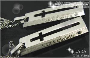 ララクリスティー LARA Christie ウィッシュクロス ペアネックレス 【送料無料】【即納】【ペアジュエリー】【ペアアクセサリー】【プレゼントに最適】10P03Dec16