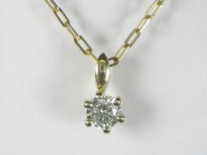 K10YG イエローゴールド ダイヤモンド ペンダント ネックレス10P03Dec16