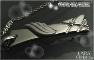 ララクリスティー LARA Christie エターナルウィング ネックレス [ BLACK Label ブラックレーベル] 【送料無料】【即納】【プレゼントに最適】10P03Dec16