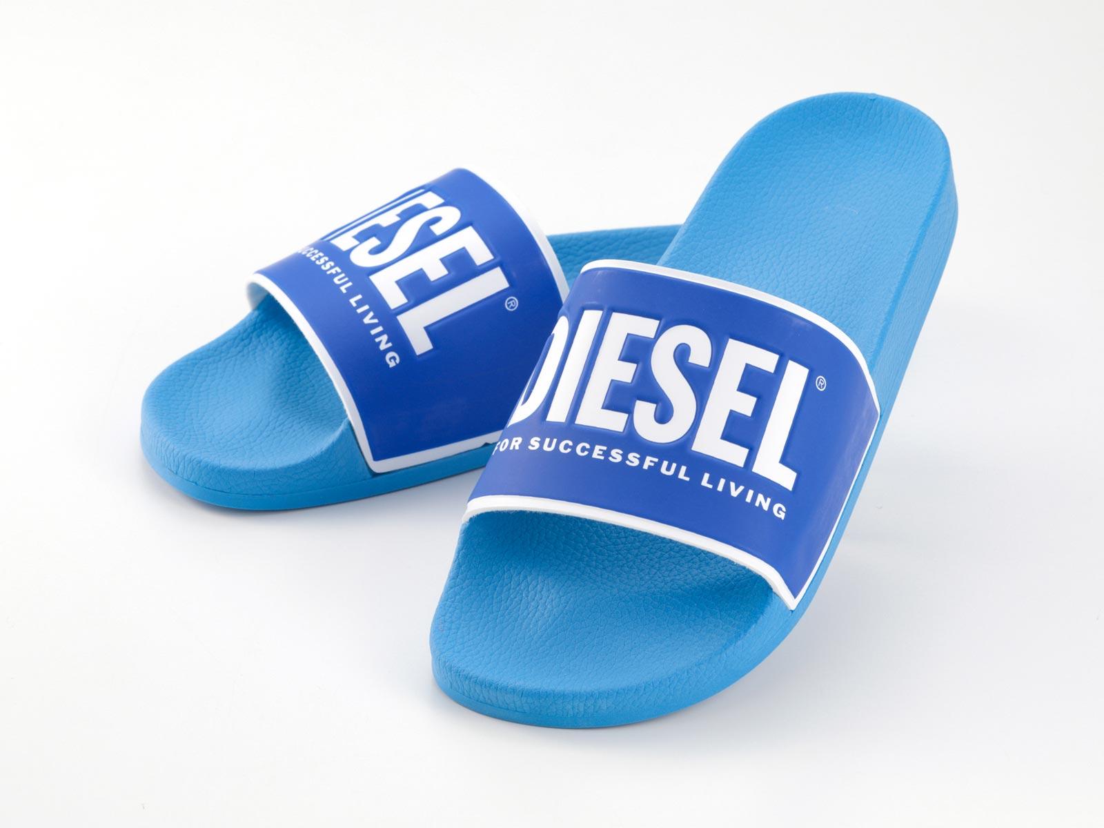 Bauer Flip Flop Hockey Sandals Blue Adult Sandal EVA Sole Shower Beach 1047200