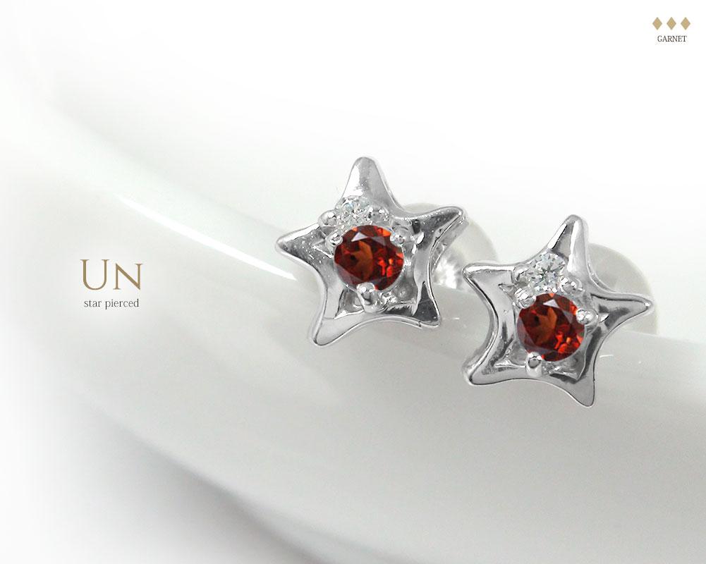 Un / star pierce(アン)「一番星」ピアス ジュエリー工房アルマ