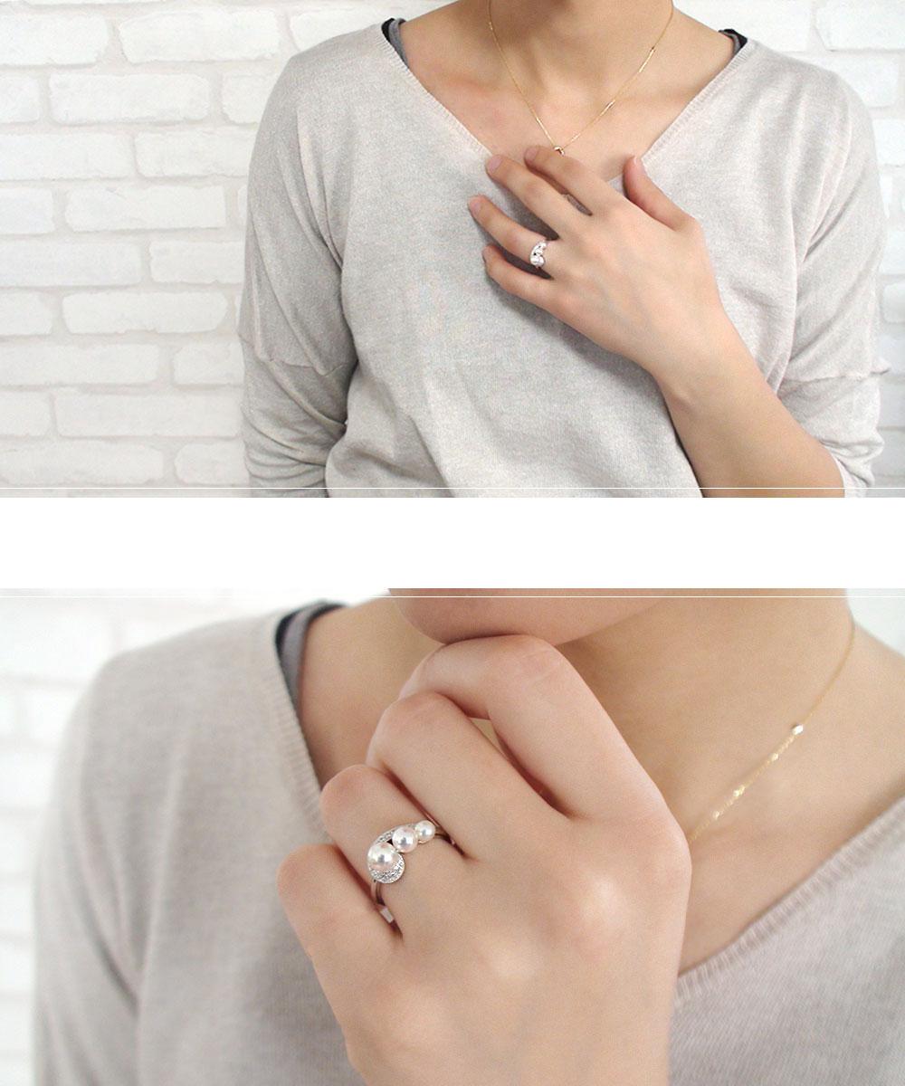 Lumeto(ルメート)「真珠」 パールリング | ジュエリー工房アルマ