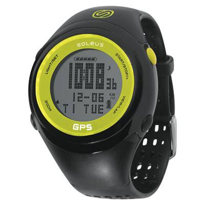 Soleus(ソリアス) GPS FIT 1.0J SGJ01351 Black/Lime