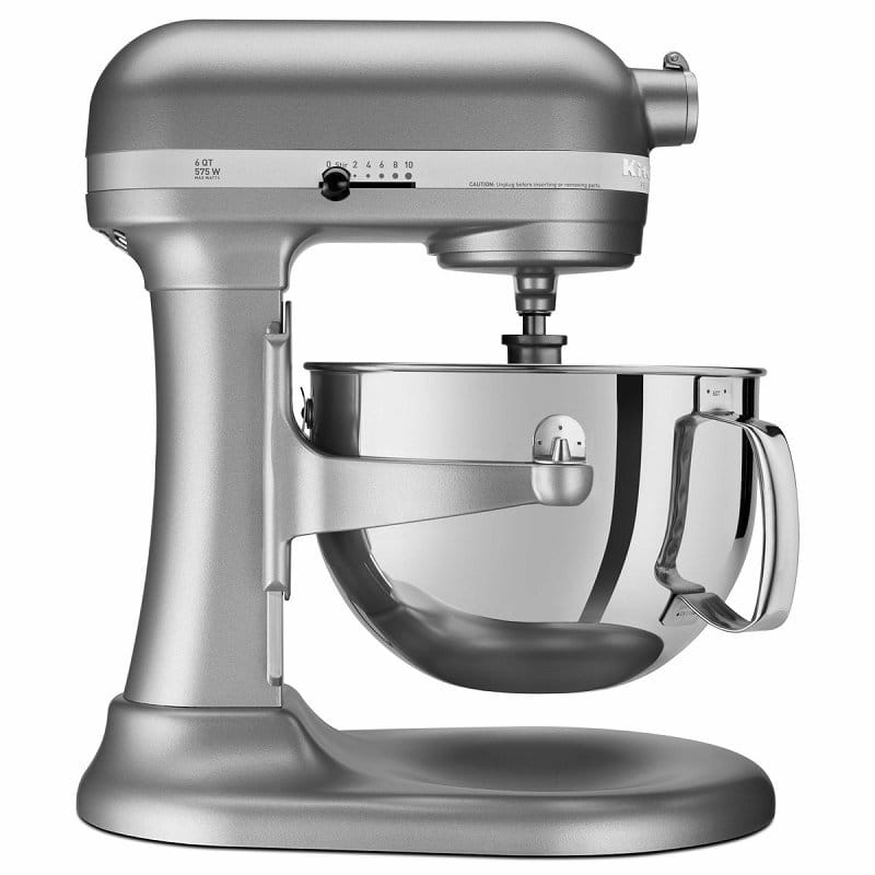 Kitchen aid stands mixer professional 600 5.8L silver KitchenAid KP26M1XSL  Professional 600 Series 6-Quart Stand Mixer household appliance