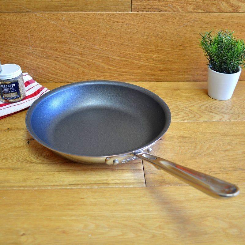 【楽天市場】【送料無料】オールクラッド テフロン加工 フッ素加工 フライパン 鍋 直径25cmall Clad