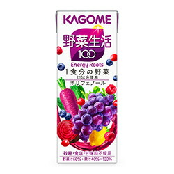 カゴメ野菜生活100エナジールーツ(紫の野菜)