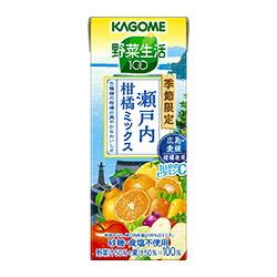 野菜生活100 瀬戸内柑橘ミックス