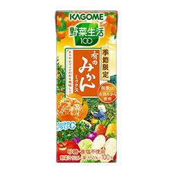 カゴメ野菜生活100有田みかんミックス