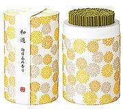 カメヤマローソクのミニ寸お線香 和遊(わゆう)シリーズ 向日葵の香り
