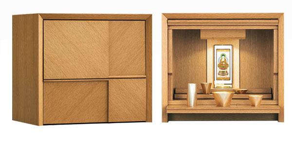 八木研の現代仏壇 ロゼア ライト