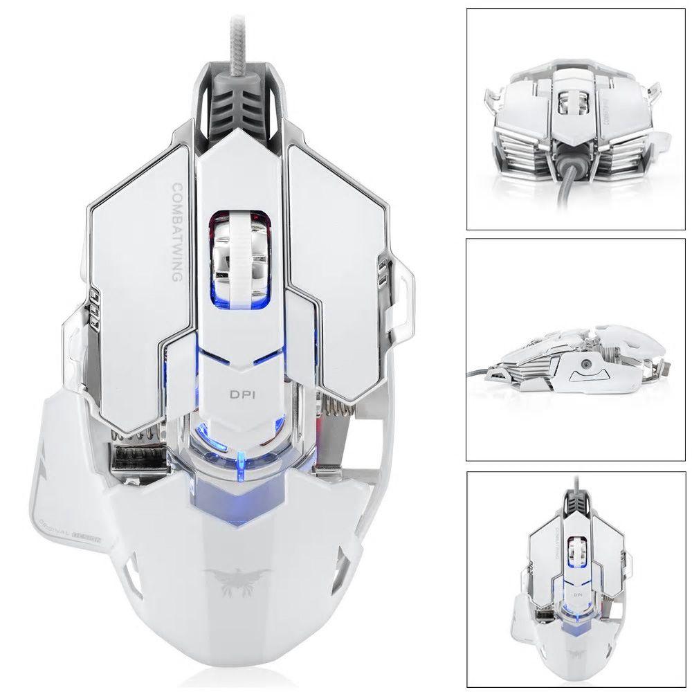ゲーミング有線接続マウス 速度変更 軽量 高耐久