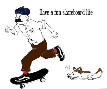 楽しいスケートボードを!!