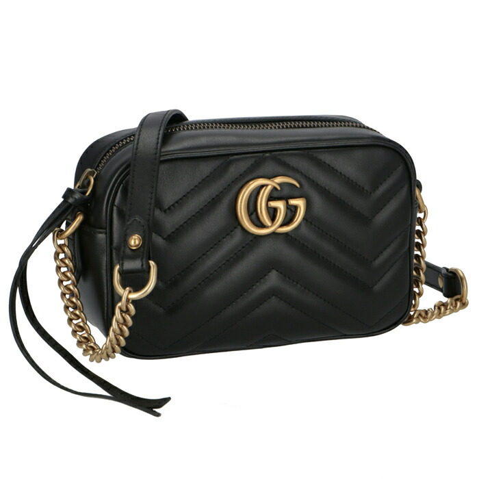 5381c00c8137c4 I am worked on newly in the summer in the spring of 2018 GUCCI. グッチマーモントバッグ gg  Marmont 2.0 shoulder bag NERO