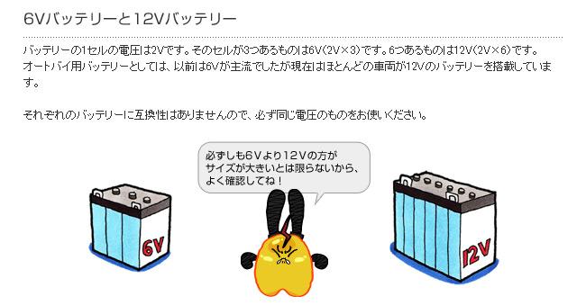 6V・12V