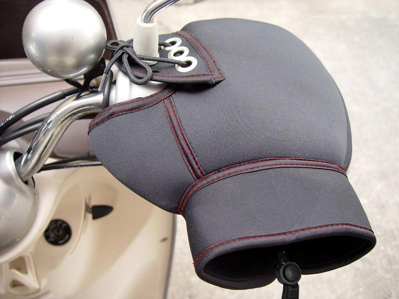 バイク用 ハンドルカバー写真1