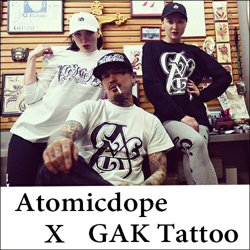 Atomicdope x GAG Tattoo