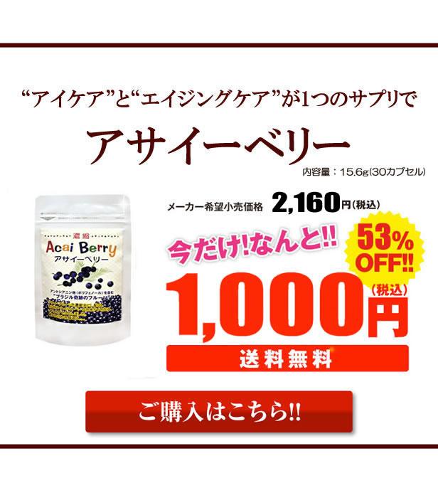 今だけ1,000円