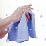 楽天スーパーセール品!クール大判日本製ハンカチ:ブルー4枚セット