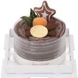 ショコラのタオルマフラーケーキ