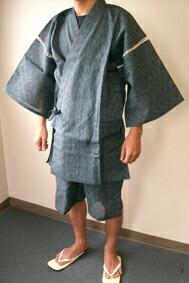 甚平:着用イメージ
