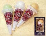 ソフトクリーム3色3個セット1100円のみ
