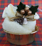 残りわずか!日本製クリスマスケーキゴールド