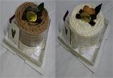 タオルマフラーケーキ