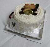 日本製タオルマフラーケーキ!ホワイトガナッシュ