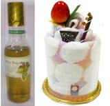 ホールマーク今治ケーキとワイン